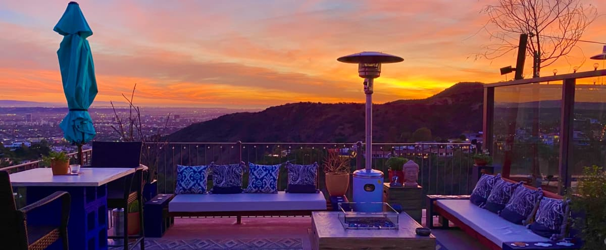 Hanging Garden of Yin - Sunset Deck in Los Angeles Hero Image in Central LA, Los Angeles, CA
