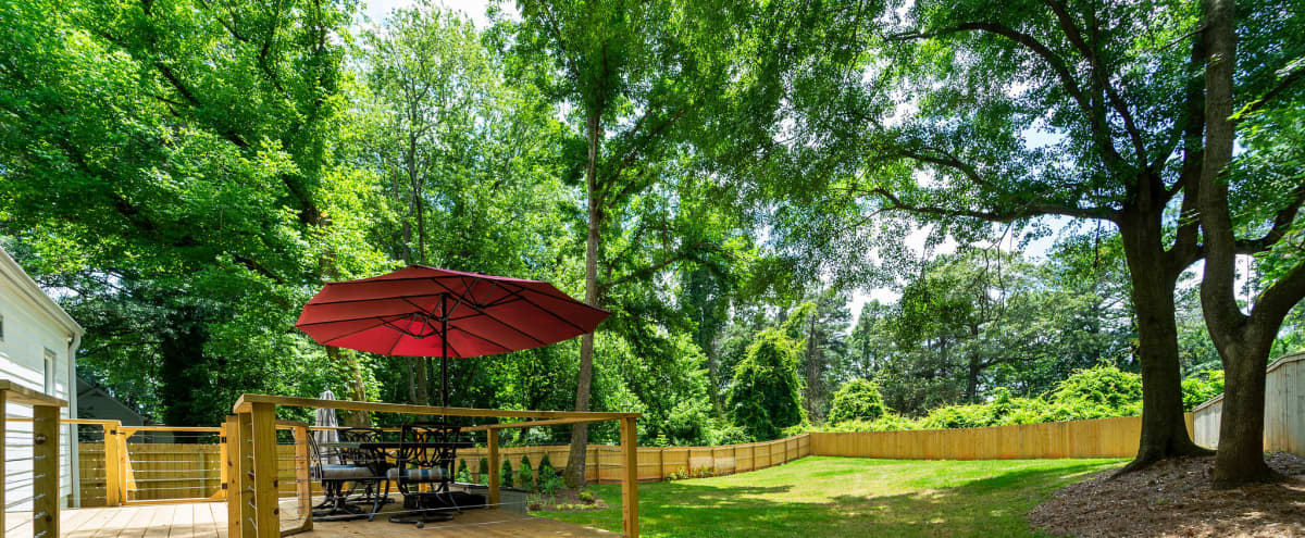 Charming Cottage w/ Large Yard for Outdoor Events and Forest Views in Atlanta Hero Image in undefined, Atlanta, GA