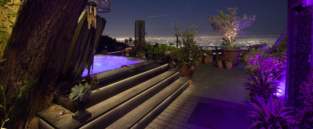 Hollywood Hills Zen Home with Jetliner Views in Los Angeles Hero Image in Central LA, Los Angeles, CA