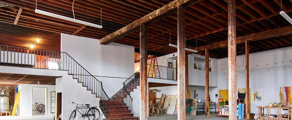 Massive West Adams Deco Warehouse Artist Loft in Los Angeles Hero Image in South Los Angeles, Los Angeles, CA