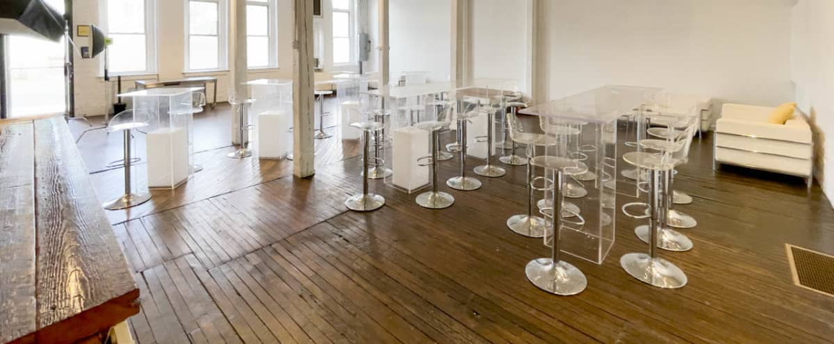 1400 sq ft White Box Art Gallery for Photo & Video Shoots in Bridgeport Hero Image in East Side, Bridgeport, CT