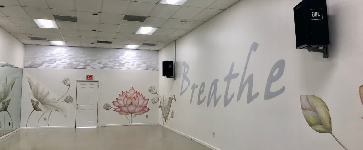 Newly Renovated Bright Yoga Studio with Sound System in Los Angeles Hero Image in Park Mesa Heights, Los Angeles, CA