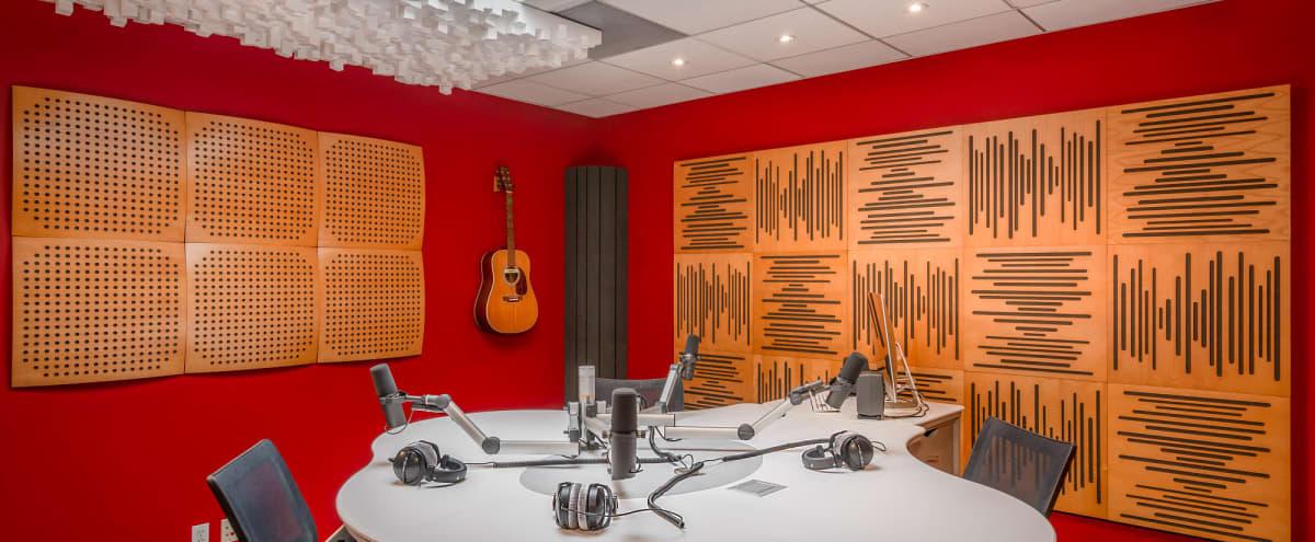 High-End Podcast & Live Streaming Studio in Glendale Hero Image in Tropico, Glendale, CA