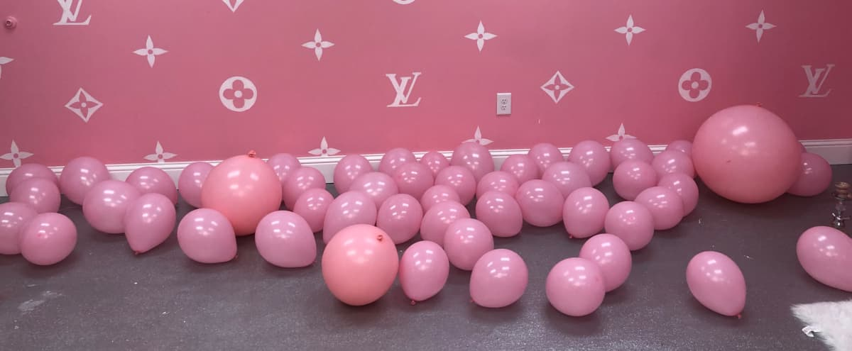 All pink salon in Houston Hero Image in Greater Greenspoint, Houston, TX