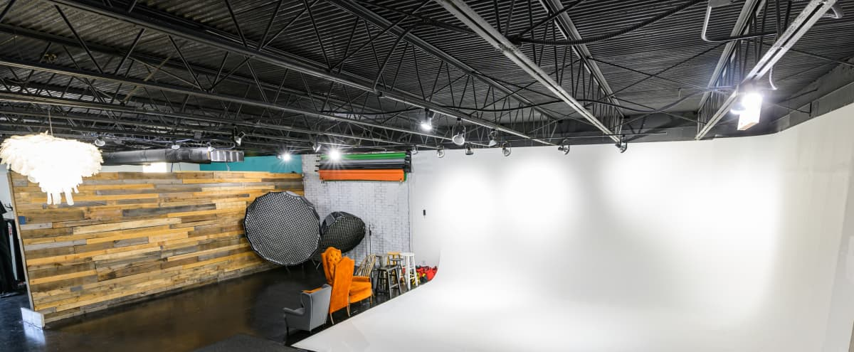 Large Open Photography and Videography Rental Studio in Orlando Hero Image in East Central Park, Orlando, FL