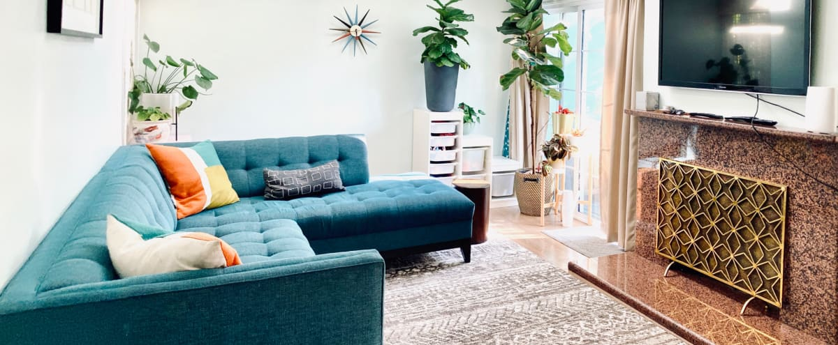Eclectic Vintage Home w/ Mid Mod flair in los angeles Hero Image in West Los Angeles, los angeles, CA