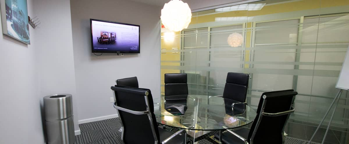 Perfect Meeting Room B with Marble Table for up to 6 People - TS in NEW YORK Hero Image in Midtown, NEW YORK, NY