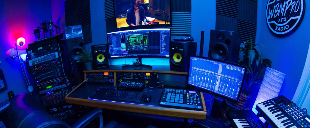 Modern recording studio near Domain North in Austin Hero Image in North Burnet, Austin, TX
