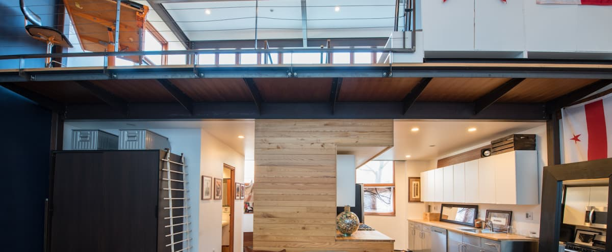 Versatile Loft Retreat with Great Natural Light in Washington Hero Image in Northwest Washington, Washington, DC