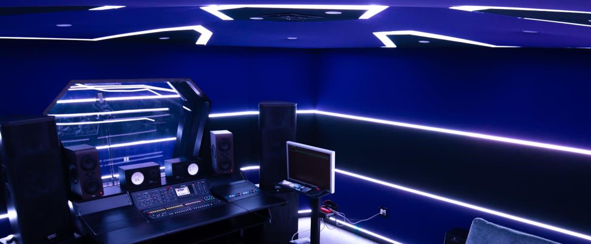 Los Angeles Futuristic Recording Studio in Los angeles Hero Image in Greater Wilshire / Hancock Park, Los angeles, CA