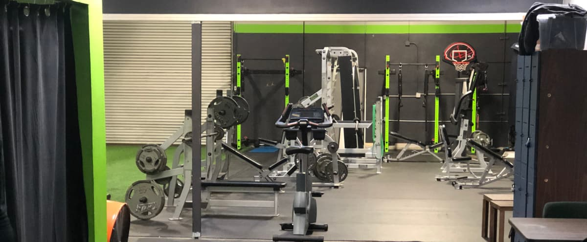 4,000 Sq Ft Fitness Gym For Athletic Photo/Film Shoots in San Leandro Hero Image in Davis Tract, San Leandro, CA