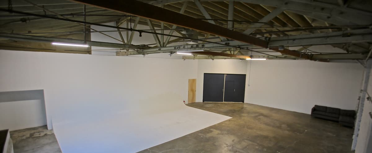 Huge East Side studio / warehouse with 30' cyc in Los Angeles Hero Image in Echo Park, Los Angeles, CA