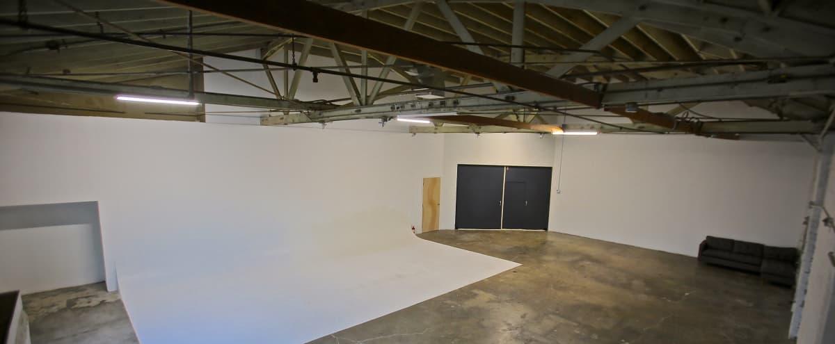 @dafstudios Huge East Side studio / warehouse with 30' cyc in Los Angeles Hero Image in Historic Filipinotown, Los Angeles, CA