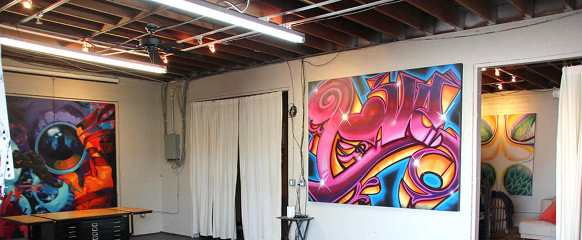 Lax Graffiti Art Loft And Yard Natural Light Indoor Outdoor With Parking