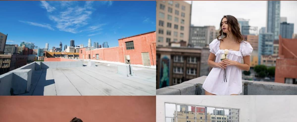 DTLA Roof with City Views in Heart of Fashion District + Parking - Photo/Video in Los Angeles Hero Image in Downtown Los Angeles, Los Angeles, CA