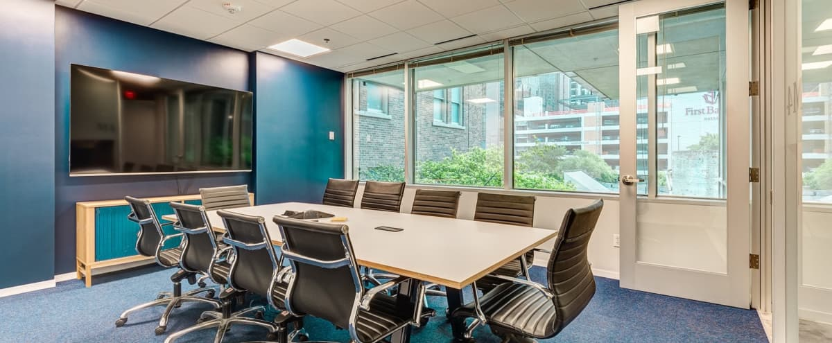 Modern 10 Person Meeting Room | Downtown | M4 in Dallas Hero Image in Downtown, Dallas, TX