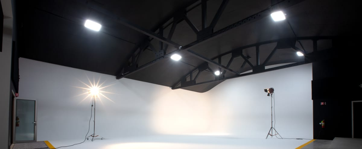 Posh and High Performance  Soundstage/Video Production Studio with cyclorama, separate daylight studio and other amenities (event space) in Oakland Hero Image in Hoover - Foster, Oakland, CA