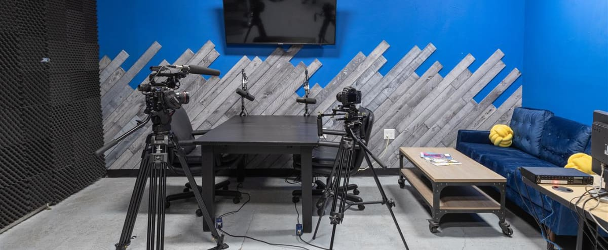 Youtube Video & Podcast Production Space in Covina Hero Image in undefined, Covina, CA