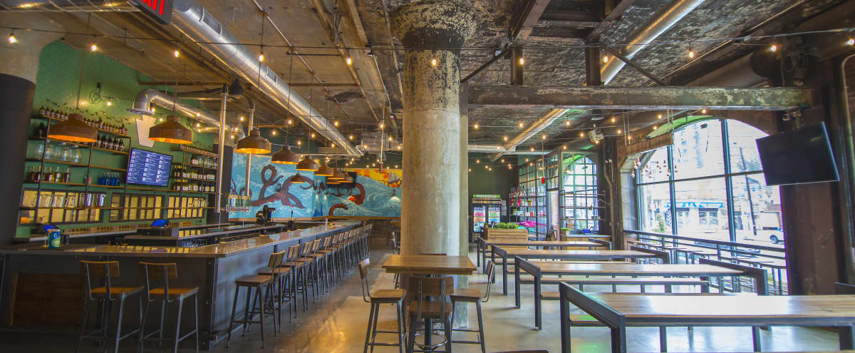 Converted Industrial Craft Brewery And Restaurant For Events in Philadelphia Hero Image in Center City, Philadelphia, PA
