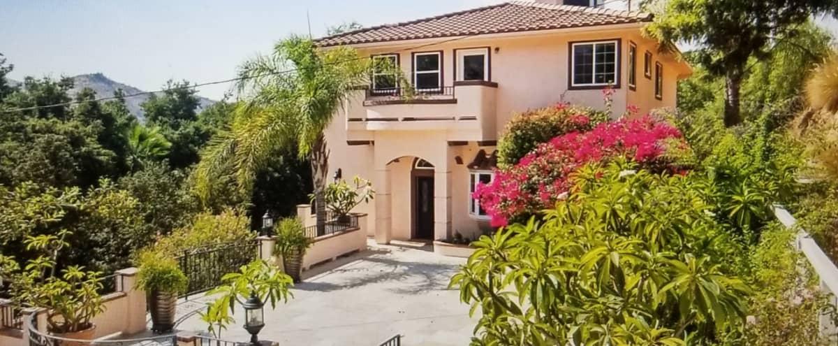 Equestrian Villa, Sun Valley, stables, pool, luxury mediterranean ranch 7 acres in Sun Valley Hero Image in Sun Valley, Sun Valley, CA