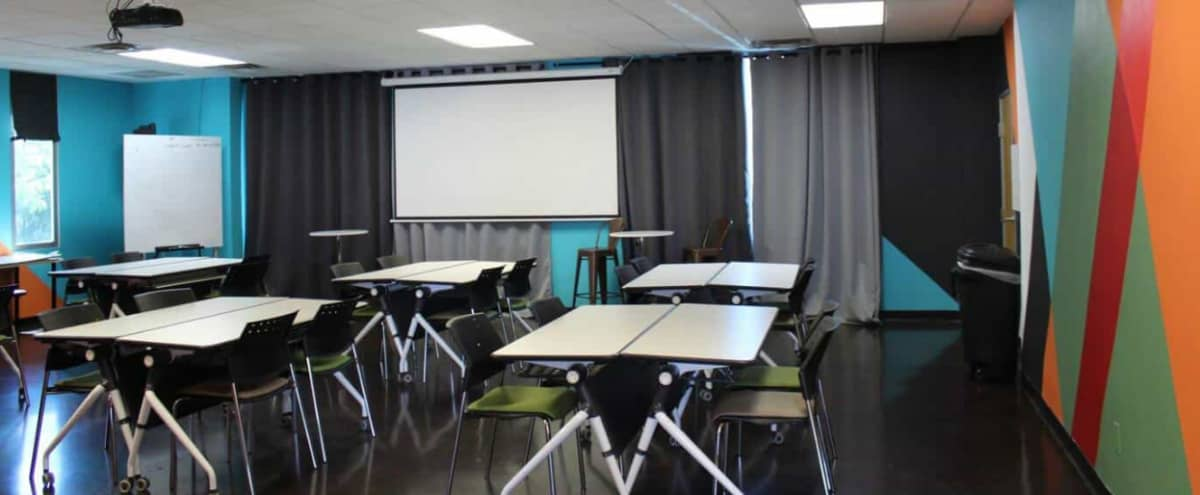 Bright, Customizable Classroom Style Meeting Space in Phoenix Hero Image in Indianola Place, Phoenix, AZ