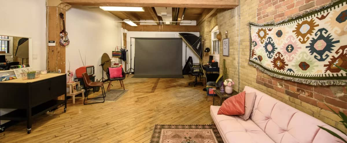Downtown Turn-Key Photo Studio w/ Exposed Brick - Studio City in Toronto Hero Image in St. Lawrence, Toronto, ON