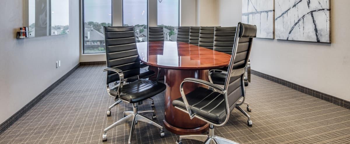 Comfortable 10 Person Boardroom w/ Whiteboard in Keller Hero Image in undefined, Keller, TX