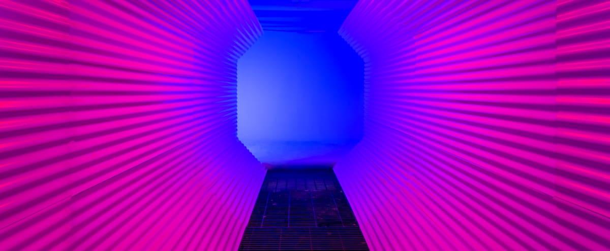 Loft, Studio space with Unique Lighting, Cyc & Tunnel in Hollywood in LA Hero Image in Hollywood, LA, CA