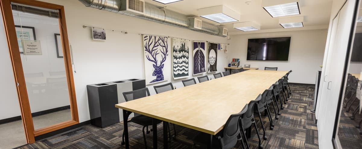 Affordable, Private Boardroom and Meeting Space for 20 in Seattle Hero Image in Belltown, Seattle, WA