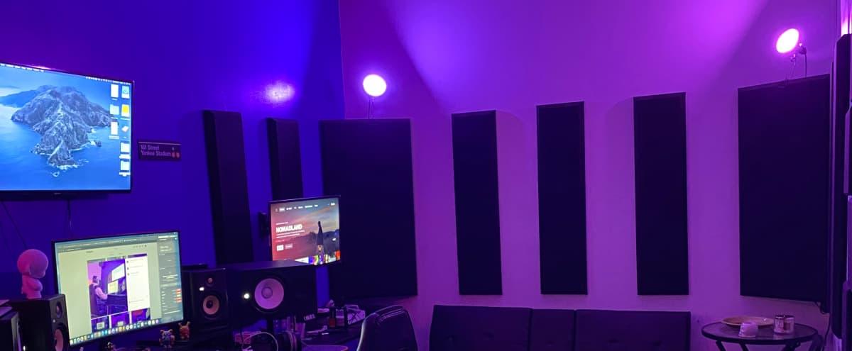 Loft Music Studio with Artistic Aesthetic. in Queens Hero Image in Bushwick, Queens, NY