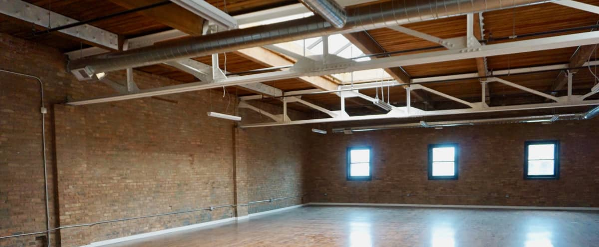 Brick Studio Loft for Productions in Chicago Hero Image in South Loop, Chicago, IL
