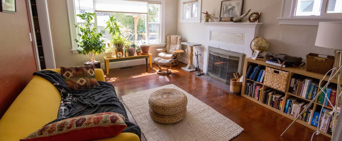 Classic Vintage Seattle House with Wood Floors and Natural Light in Seattle Hero Image in Northwest Seattle, Seattle, WA