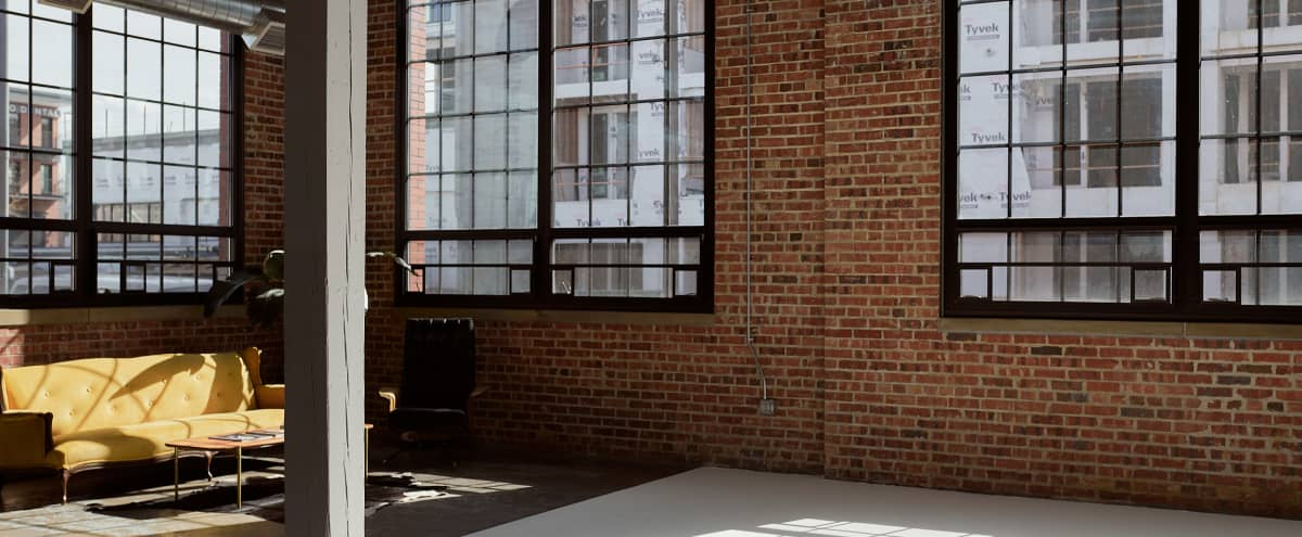 Natural Light, Loft-Style Photo Studio and Creative Space in the heart of RiNo in Denver Hero Image in Five Points, Denver, CO