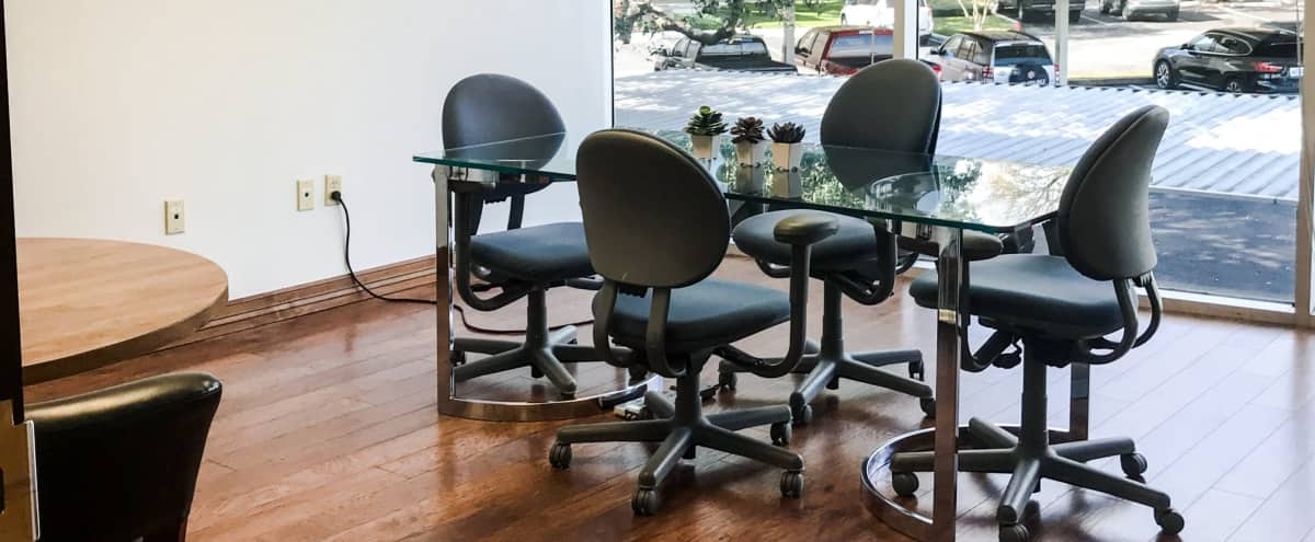 Off-Site Meeting Room/Office for up to 8 in Austin Hero Image in North Crossing, Austin, TX