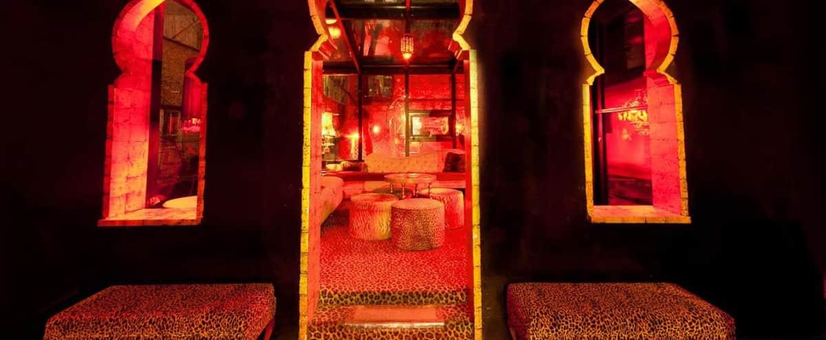 Sexy bar/lounge in historic Greenwich Village - Bedouin Lounge (Atrium side) in New York Hero Image in Greenwich Village, New York, NY