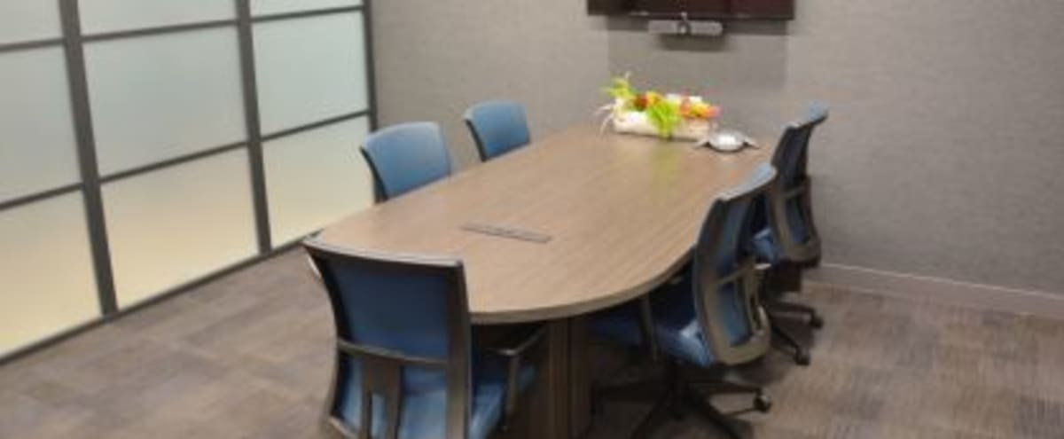 Fully Equipped 6 Person Conference Room in Charlotte Hero Image in undefined, Charlotte, NC