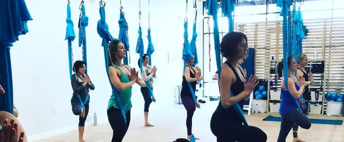 (No Shoes) Clean Yoga & Fitness Studio (Parking) in Denver Hero Image in Globeville, Denver, CO