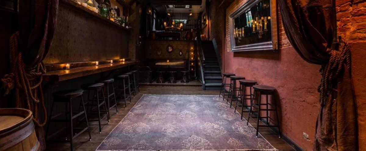 Stylish, Underground Bar/Restaurant in SoHo Neighborhood of NYC in New York Hero Image in Greenwich Village, New York, NY