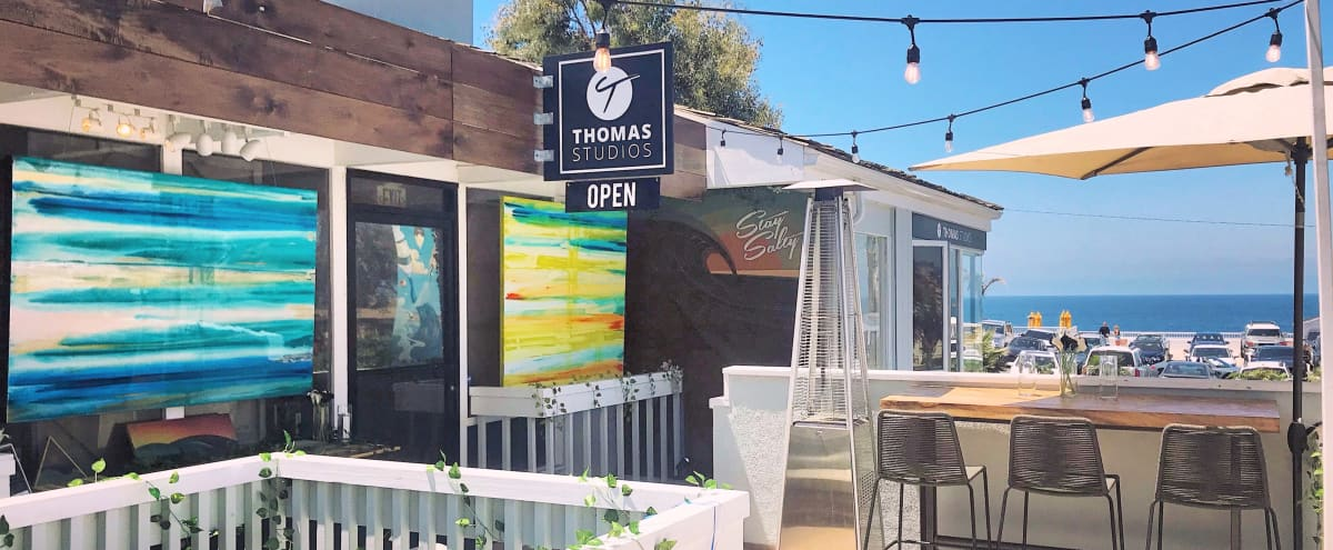 Experiential Art Gallery & Home Showroom With Ocean View in Laguna Beach Hero Image in undefined, Laguna Beach, CA