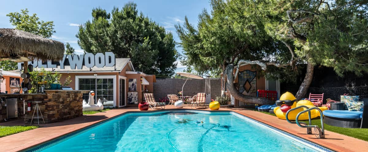 POOL / TIKI BAR / PRODUCTION COTTAGE - parking in North Hollywood Hero Image in North Hollywood, North Hollywood, CA
