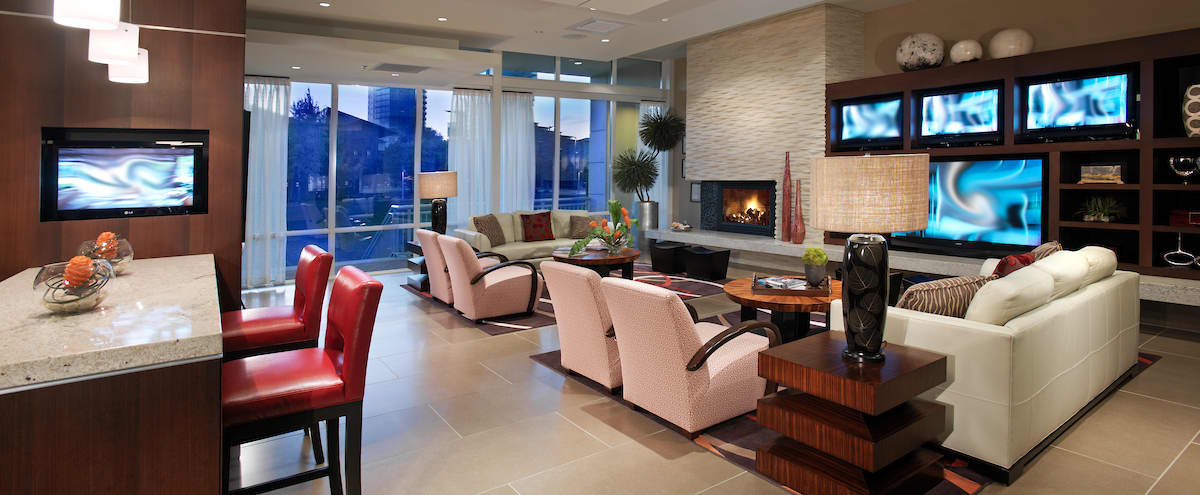 Semi-Private Off-Site Clubhouse with Conference Room Ten20 in Bellevue Hero Image in Northwest Bellevue, Bellevue, WA