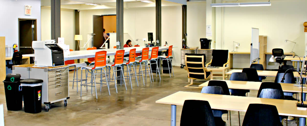 Dynamic and Versatile Open Area for Meetings, Trainings, and Filming in Downtown Decatur in Decatur Hero Image in Great Lakes, Decatur, GA