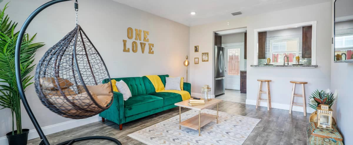 Boho Luxe Apartment with Private Patio in Fort Lauderdale Hero Image in Sailboat Bend, Fort Lauderdale, FL