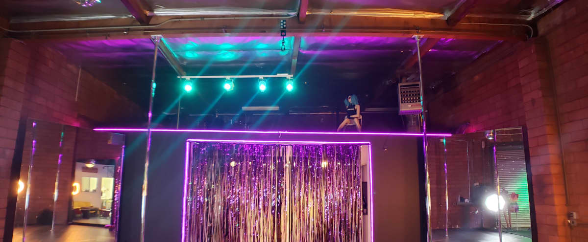 Multi Use Artistic Space: Pole, Aerial, Dance Floor, Paint, Film & More in Alhambra Hero Image in undefined, Alhambra, CA