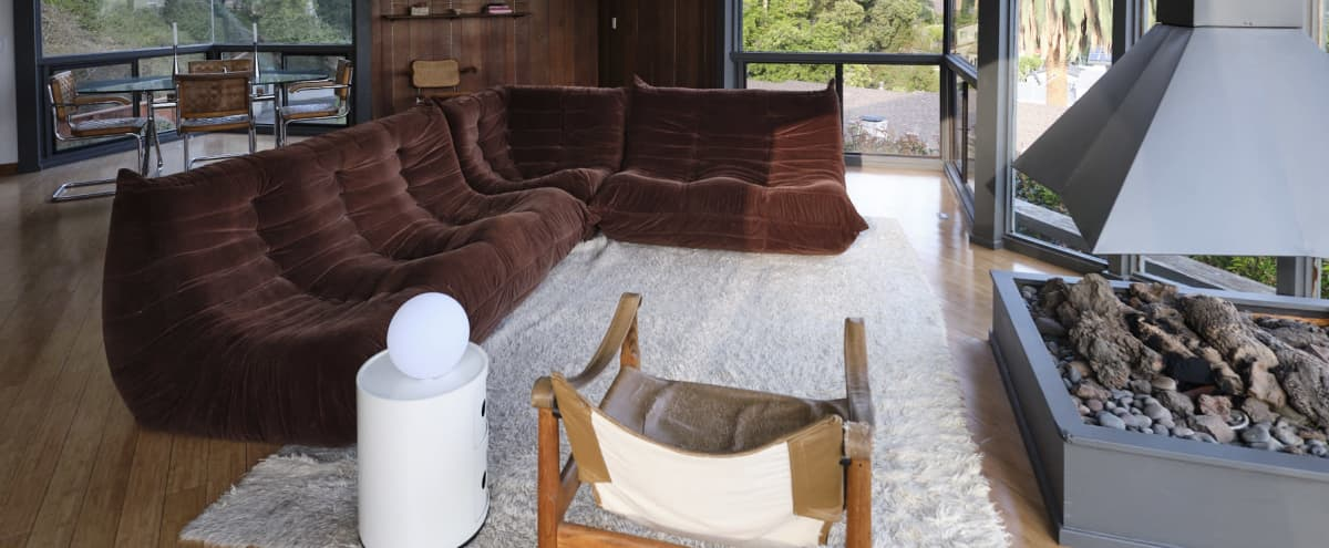 Mid-Century glass cabin with Skyline View in Sierra Madre Hero Image in undefined, Sierra Madre, CA