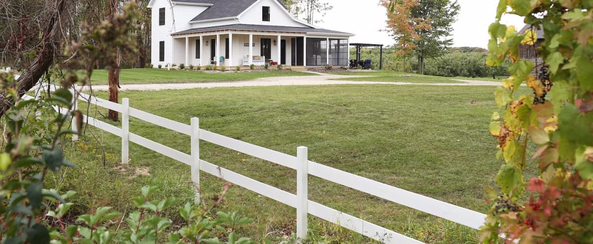 Farmhouse on a 3 Acre Apple Orchard in Fennville Hero Image in undefined, Fennville, MI