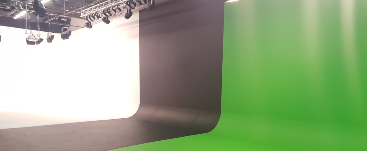 Creative Production Studio Space for Filming & Photography with White, Black, and Green Screen Cyc. Vehicle Access. Equipment Rental. in Atlanta Hero Image in undefined, Atlanta, GA