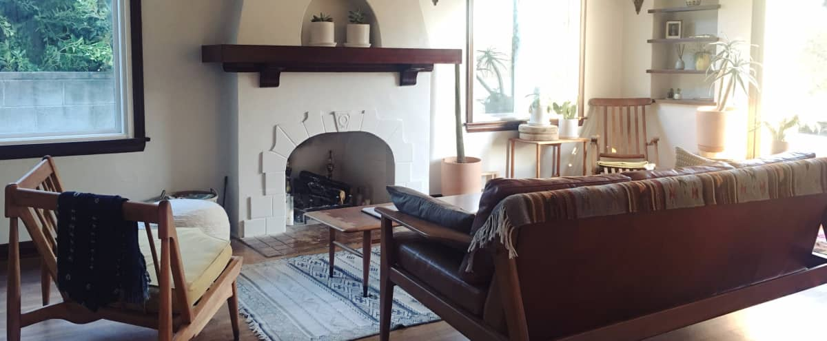 Spanish bungalow with period details and hip styling in Los Angeles Hero Image in Northeast Los Angeles, Los Angeles, CA