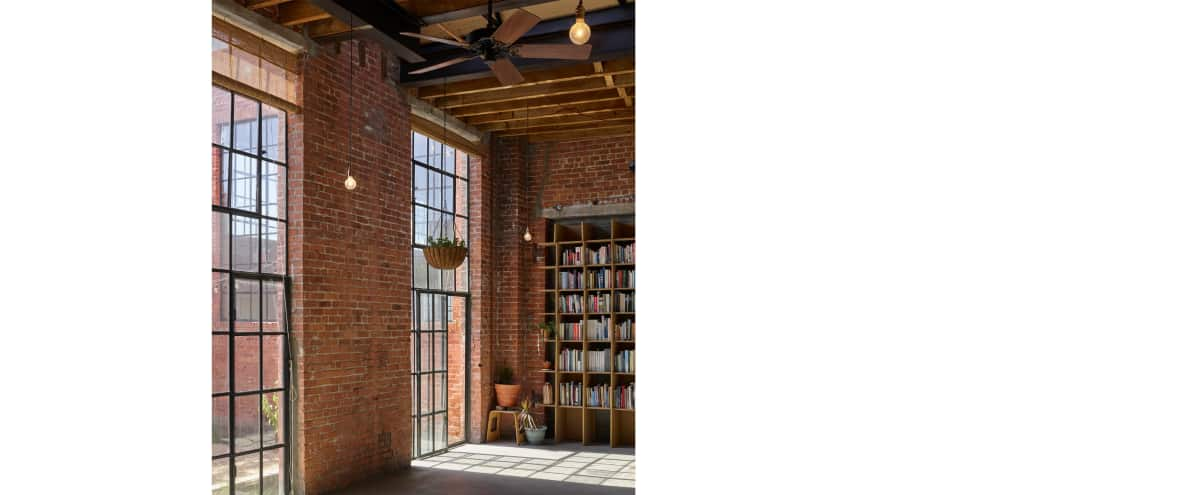Converted warehouse and private garden in Brooklyn Hero Image in East Williamsburg, Brooklyn, NY