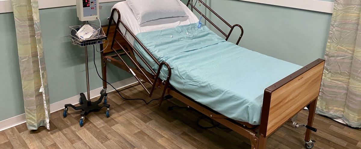 Hospital Room Set in Sound Proof Studio in Burbank Hero Image in undefined, Burbank, CA